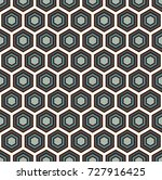 honeycomb abstract background.... | Shutterstock .eps vector #727916425