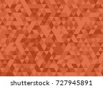 seamless rust colored triangles ...