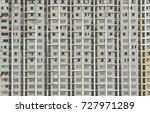 the windows of old abandoned... | Shutterstock . vector #727971289