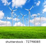 green alternative clean power... | Shutterstock . vector #72798085