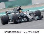 sepang  malaysia   october 01 ... | Shutterstock . vector #727984525