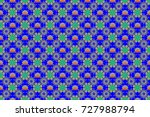 floral seamless pattern with... | Shutterstock . vector #727988794