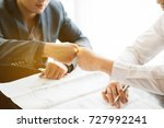 teamwork is a success. and... | Shutterstock . vector #727992241