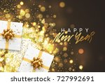 happy new year. christmas... | Shutterstock .eps vector #727992691