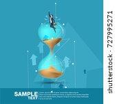 future business leader concept...   Shutterstock .eps vector #727995271