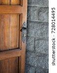 church door | Shutterstock . vector #728014495
