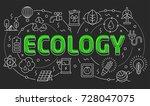 linear illustration of a slide... | Shutterstock .eps vector #728047075