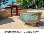 jongmyo shrine unesco world... | Shutterstock . vector #728075494