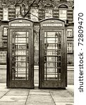 Pair Of Typical London Phone...