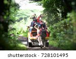 group of young asian camper... | Shutterstock . vector #728101495