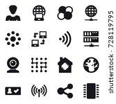 16 vector icon set   woman ...