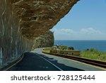 chapman's peak drive. fearful... | Shutterstock . vector #728125444