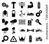 power icons set. set of 25... | Shutterstock .eps vector #728143069