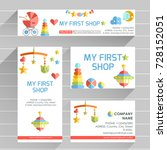 ready design template for... | Shutterstock . vector #728152051