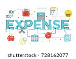 expense word lettering...