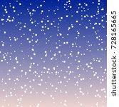 falling snow background. vector ... | Shutterstock .eps vector #728165665