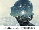 ai artificial intelligence ... | Shutterstock . vector #728204479