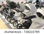 sale of prams in the store   Shutterstock . vector #728222785