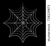 spider web icon symbol design.... | Shutterstock .eps vector #728229871