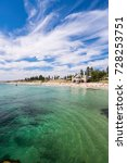 cottesloe beach on a warm... | Shutterstock . vector #728253751