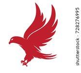 eagle logo vector   Shutterstock .eps vector #728276995