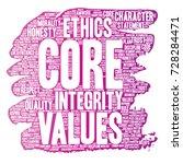 vector conceptual core values...   Shutterstock .eps vector #728284471