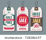 sale tags vector set and labels ... | Shutterstock .eps vector #728286157