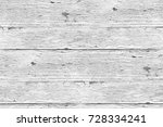 white painted planks of wood... | Shutterstock . vector #728334241