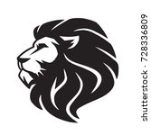 wild lion vector icon logo... | Shutterstock .eps vector #728336809