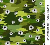 camouflage military background | Shutterstock . vector #728348245
