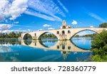 Saint Benezet Bridge In Avigno...