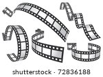 film tapes | Shutterstock .eps vector #72836188