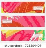 hand drawn creative universal... | Shutterstock .eps vector #728364409