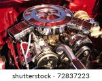 Muscle Car Engine