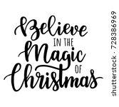 believe in the magic of... | Shutterstock .eps vector #728386969