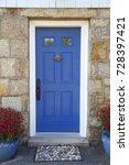 residence front entrance. sleek ...   Shutterstock . vector #728397421