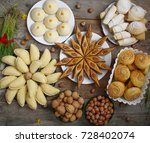 traditional azerbaijan holiday... | Shutterstock . vector #728402074