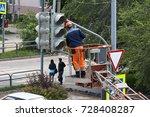 Installation Of A Traffic Light ...