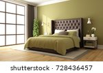 classic brown and green master... | Shutterstock . vector #728436457