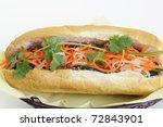 vietnamese food isolated on... | Shutterstock . vector #72843901