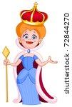 queen | Shutterstock .eps vector #72844270