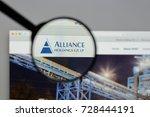 milan  italy   august 10  2017  ... | Shutterstock . vector #728444191