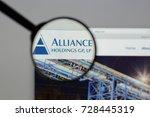 milan  italy   august 10  2017  ... | Shutterstock . vector #728445319