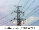 green energy concept ...   Shutterstock . vector #728457229