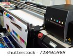 ink in cartridges and plotter   Shutterstock . vector #728465989