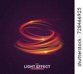 Colorful Vortex With Luminous...