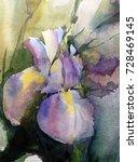 Watercolor Art Abstract...