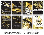 vector illustration set of... | Shutterstock .eps vector #728488534