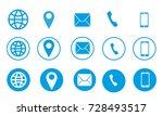 business card information vector | Shutterstock .eps vector #728493517