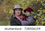 mom and daughters playing in...   Shutterstock . vector #728506159